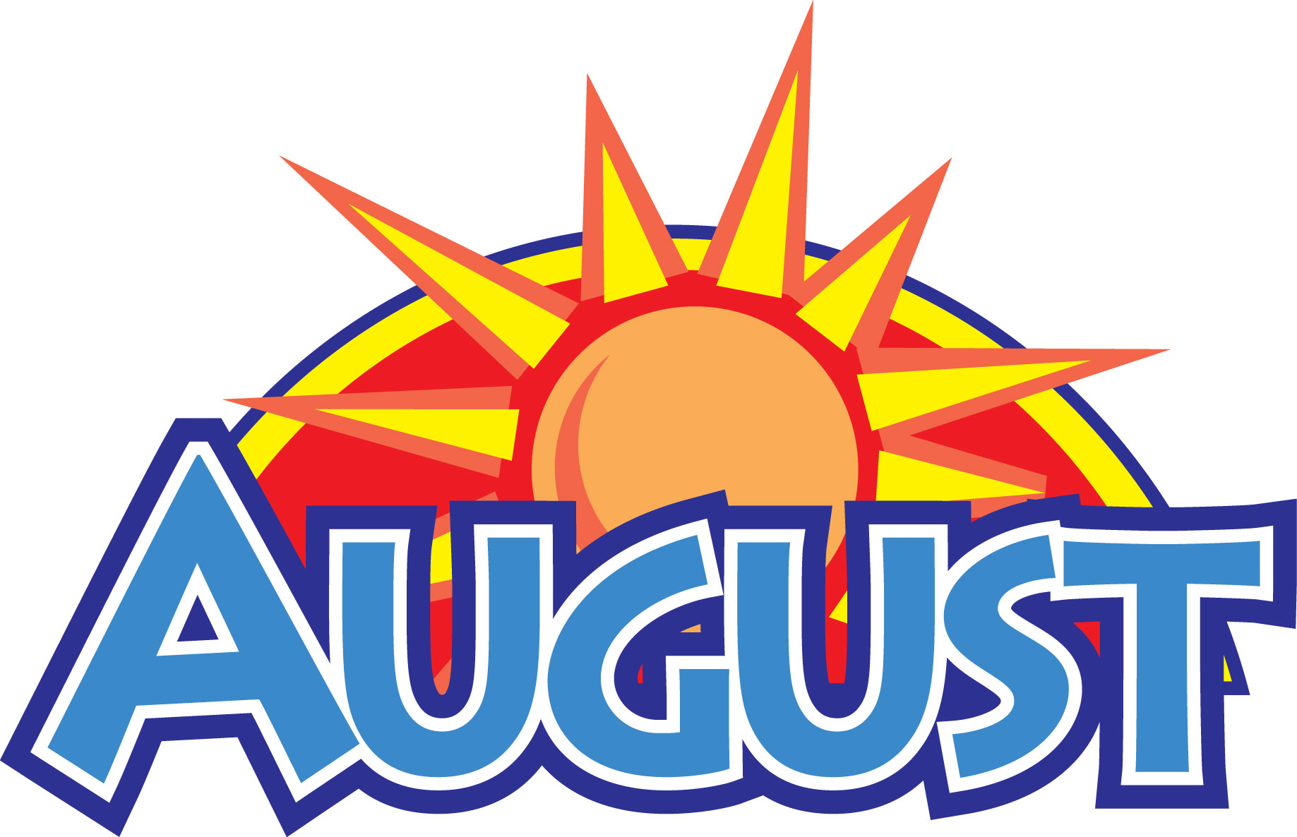 Calendar Clip Art August : The fountain august recap